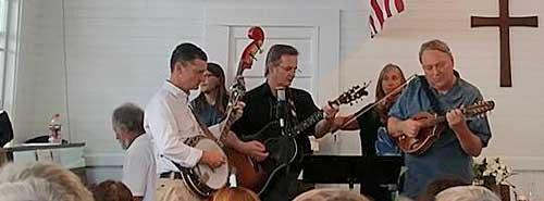 Summer Chapel bluegrass band